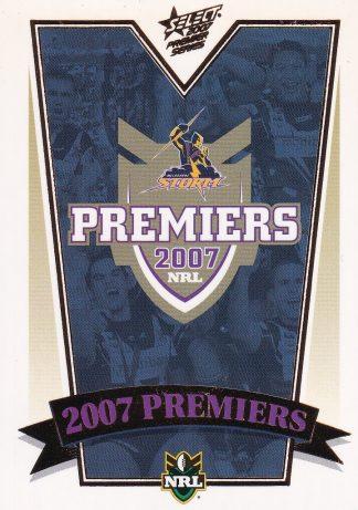 2007 NRL Premiers Set