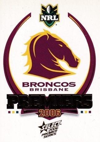 2006 NRL Premiers Set