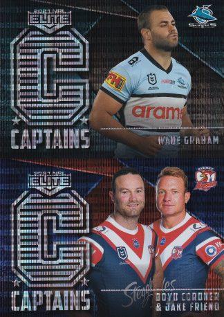 2021 NRL Elite Captains
